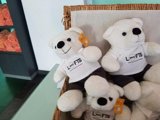 โรงแรมบีวายดี ลอฟท์ บูทีค แอนด์ เซอวิสอพาร์ตเมนท์: BYD Bears