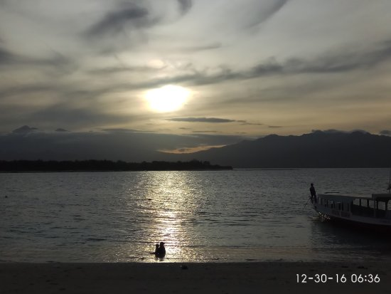 Gili Islands, Indonezja: morning at gili trawangan