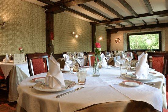 Veigne, Франция: Salle de restaurant