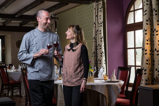 Le Moulin Fleuri: Katia et Michael Chaplin