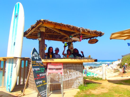 Caesarea, Israel: always with a smile