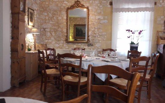 La Bruceliere: Une idée sur le style de la salle de restaurant