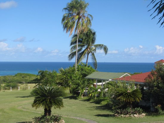 The Mount Nevis Hotel : Well maintained and spacious grounds surround the hotel