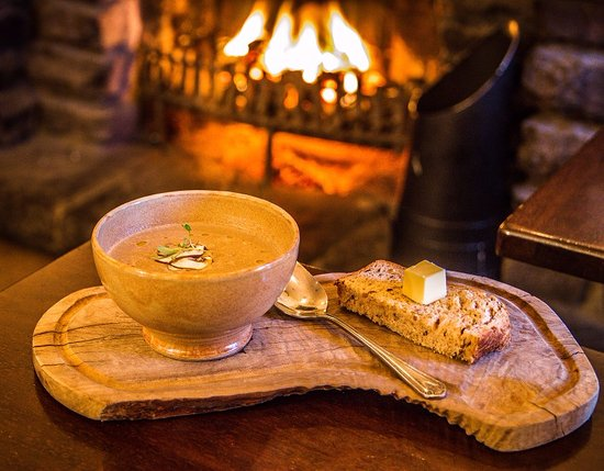 Soup in front of fire - Picture of The Old Mill Killearn - Tripadvisor