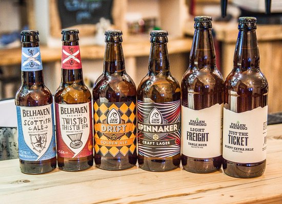 Killearn, UK: Selection of craft beer & ale