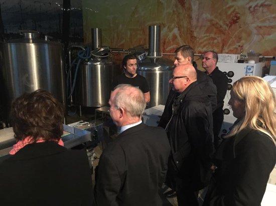 Vallsta, Suecia: Bryggerivisning