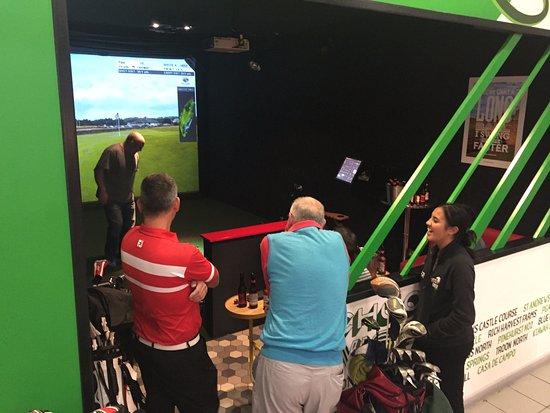 Lets Race: Birra Moretti World Golf Tour
