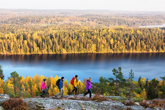 West Sweden, Suecia: Hiking on mount Sörknatten, Dalsland. Photo By: Roger Borgelid