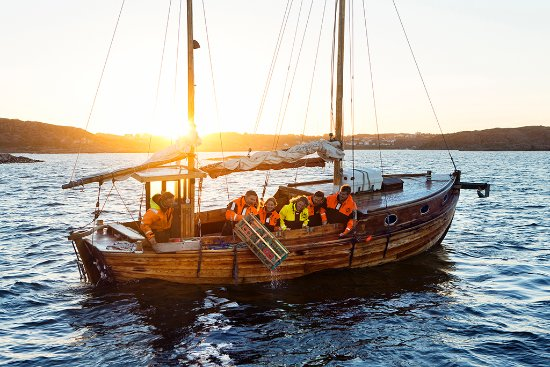 West Sweden, Sweden: Seafood safari at Evert's Sjöbod in Grebbestad, Bohuslän coast. Photo By: Roger Borgelid