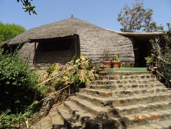 Eco-Omo Lodge - il ristorante