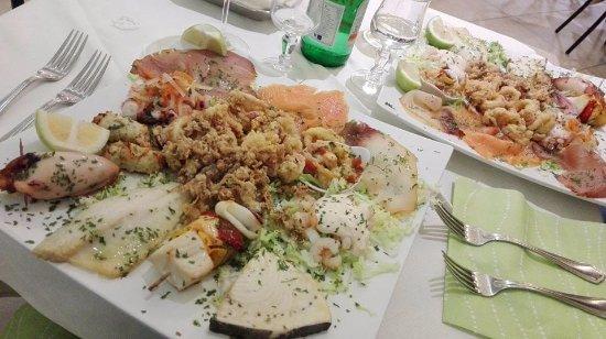 Oliveri, Italia: degustazione