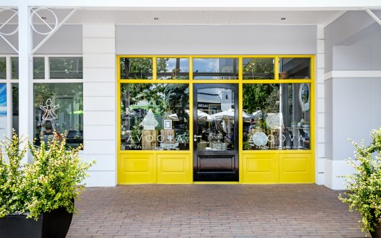 A selection of luxury decor, fashion accessories and objets d'art in our Franschhoek store