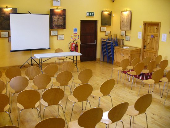 County Leitrim, ไอร์แลนด์: Main hall available for meetings/training sessions etc