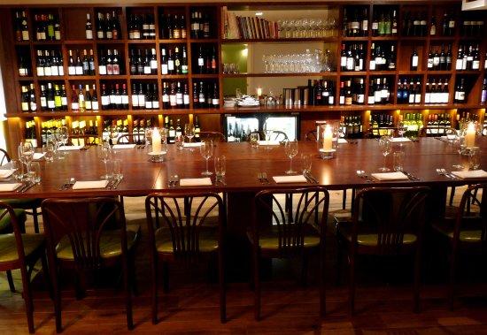 Vinoteca Marylebone private dining room