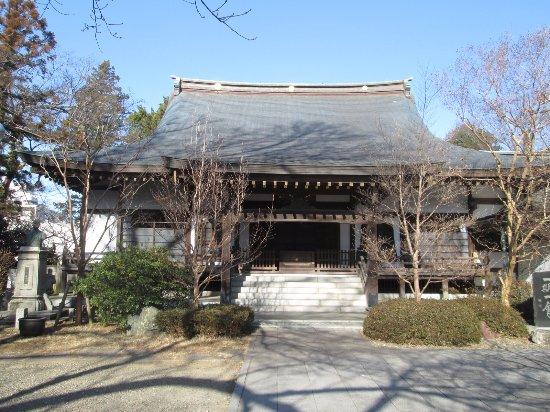 Toride, Jepang: 本堂の正面