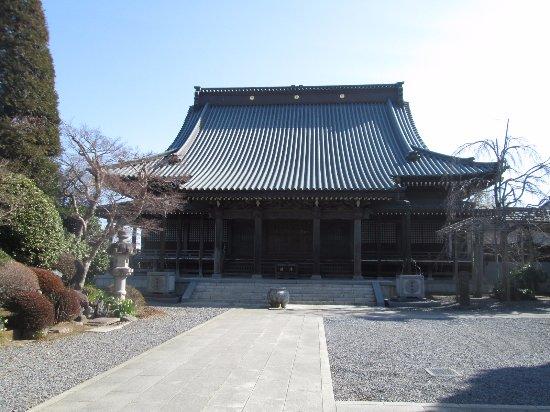 Joso, Japan: 本堂の正面