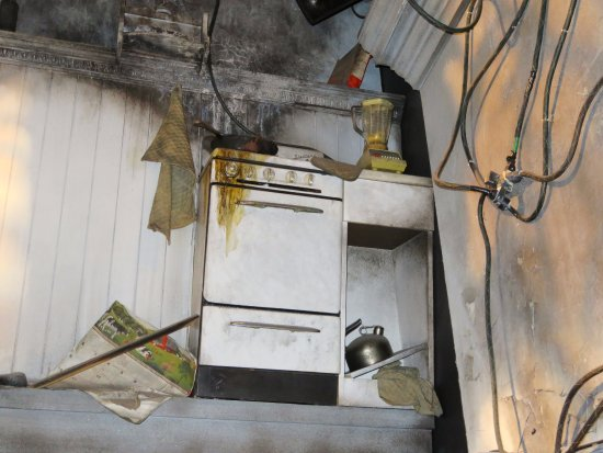 Reconstructed Kitchen Fire Fdny Fire Zone 04 Feb 17 Picture Of Fdny Fire Zone New York City Tripadvisor