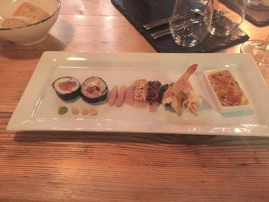 Vorspeise Fischvariation Garnele Aus Bayern Picture Of Gourmet