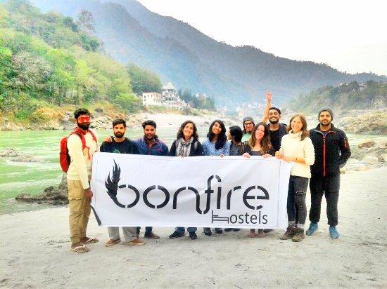 Bonfire Hostels Rishikesh