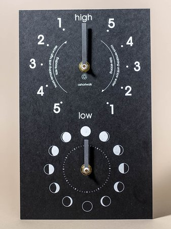 River Dart Gallery: A selection of tide clocks available