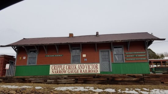 Cripple Creek & Victor Narrow Gauge Railroad: train station