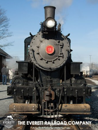 Number 11 rests at our depot in Hollidaysburg, PA.