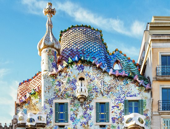 Photo of Monument / Landmark Casa Batllo at Passeig De Gràcia, 43, Barcelona 08007, Spain