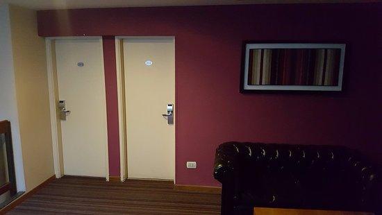 Hotel Felipe II: Entrada cuartos