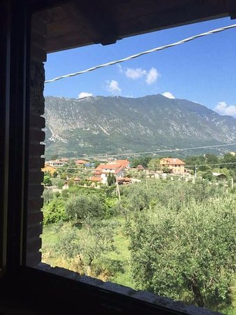 Pescosolido, Italy: My bedroom view