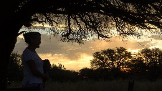 Fish River Canyon, Namibia: ons ''camperplekje''