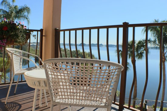 Sebring, FL: Bougainvillea Suite Balcony View