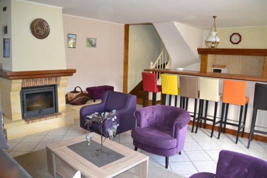 Lalinde, Frankreich: Livingroom Gite Bergerac