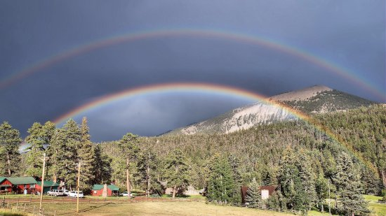 Cuchara, CO : Rainbows at Yellow Pine