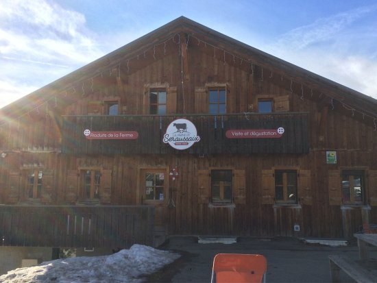 Avoriaz, Frankrijk: Great little stop off for hot chocolate