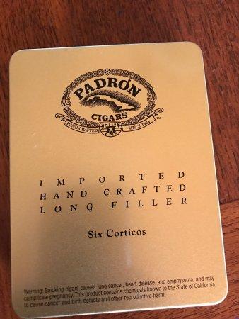Padron, cigars