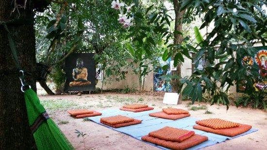 Image result for meditation area