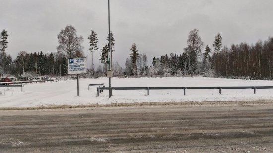 Ullensaker Municipality, Norwegen: Parcheggio esterno