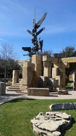 Abilene, TX: Jacob's Dream Sculpture