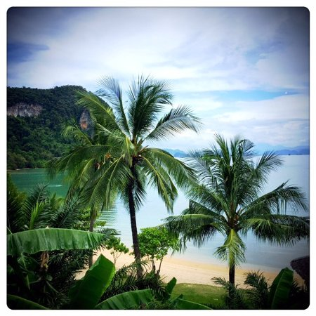 Paradise KohYao: Great view from our room...
