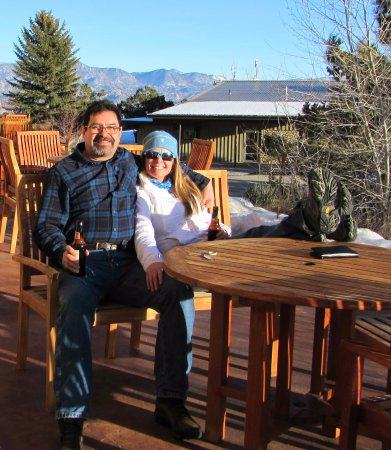 Nathrop, CO: Relax just outside your Cliffside room