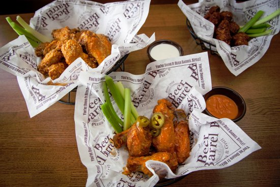 Saint Marys, OH: These aren't those dinky wings!