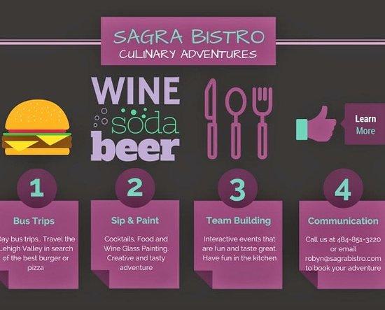Hellertown, PA: Sagra Bistro Culinary Adventures