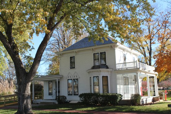 Abilene, KS: Eisenhower Boyhood Home.