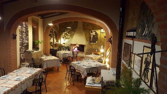 Vagliagli, Italy: sala