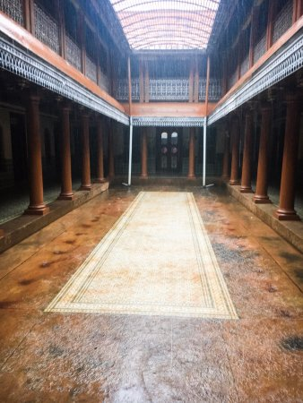 Kanadukathan, India: The courtyard