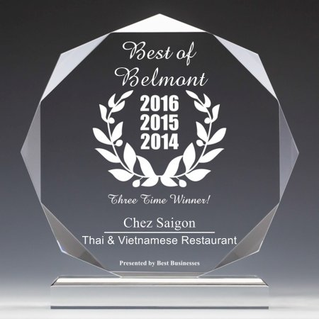 ‪‪Belmont‬, كاليفورنيا: BEST OF BELMONT, THREE YEARS RUNNING!!!‬