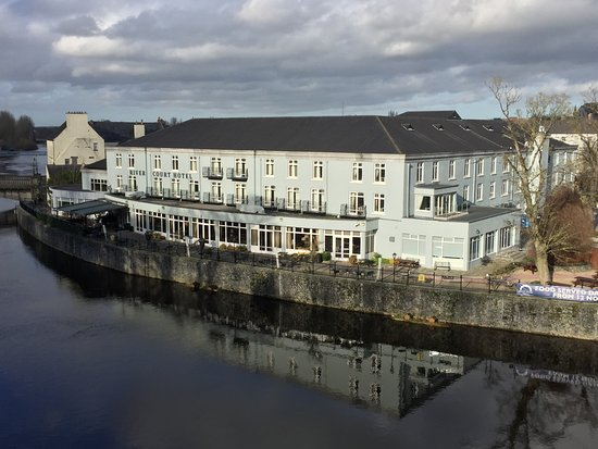 Kilkenny River Court Hotel: Taken from the Castle