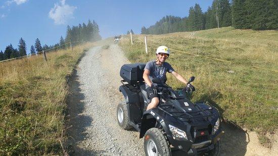 Matten bei Interlaken, Suiza: Daniels Fundbüro Quadtouren Schweiz