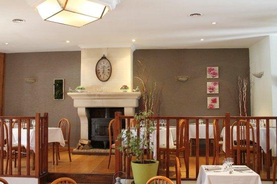 Hôtel Aux Blés d'Or : Salle de restaurant où sont servi les petits déjeuners