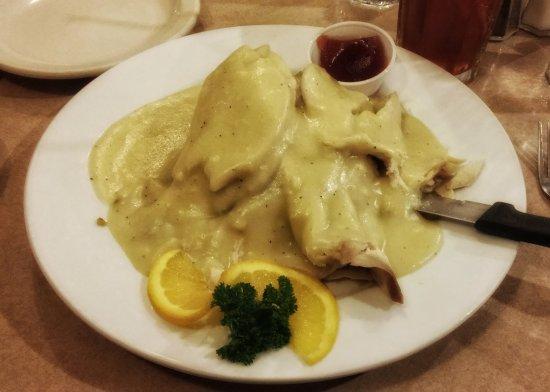 Landmark Diner: Turkey like your Mom would make....